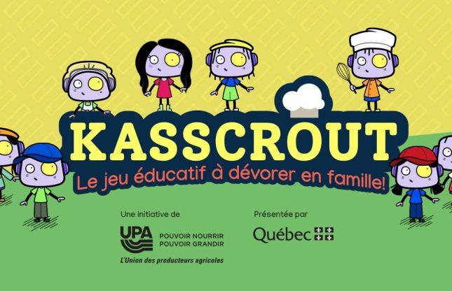Kasscrout, un jeu vidéo pour découvrir l'agriculture du Québec