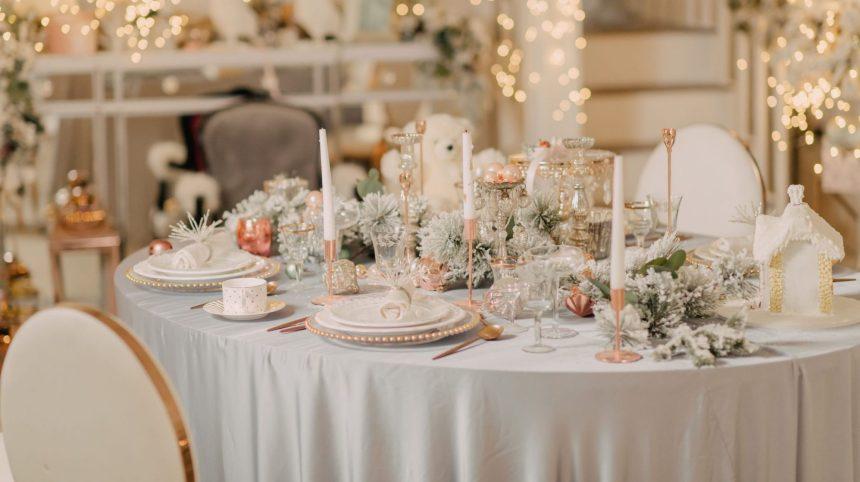 Six tables de réveillon, six styles