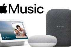 Apple Music commence à être ajouté aux assistants vocaux Google Nest