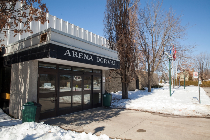 Contrat octroyé pour la construction de l'Aréna Dorval