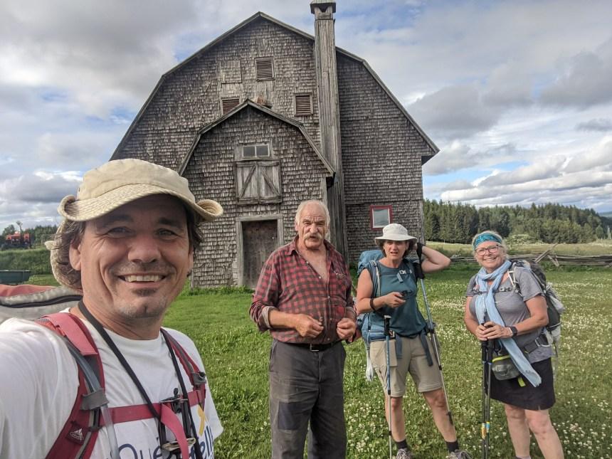 Traverser le Québec un pas à la fois