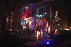 Mercier: des maisons égayées durant les fêtes