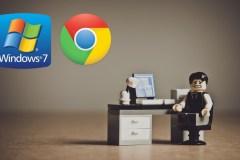Google mettra fin au support du navigateur Chrome sur Windows 7 en 2022