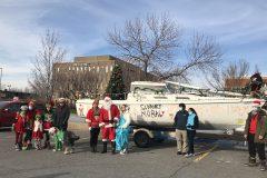 Une parade du père Noël unique à L'Île-des-Soeurs
