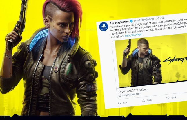 Sony retire Cyberpunk 2077 du PS Store