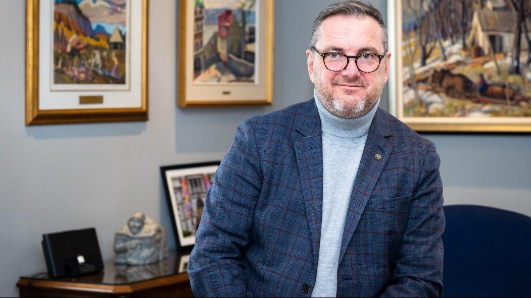 Jean-François Parenteau, maire de Verdun, enjeux et perspectives.