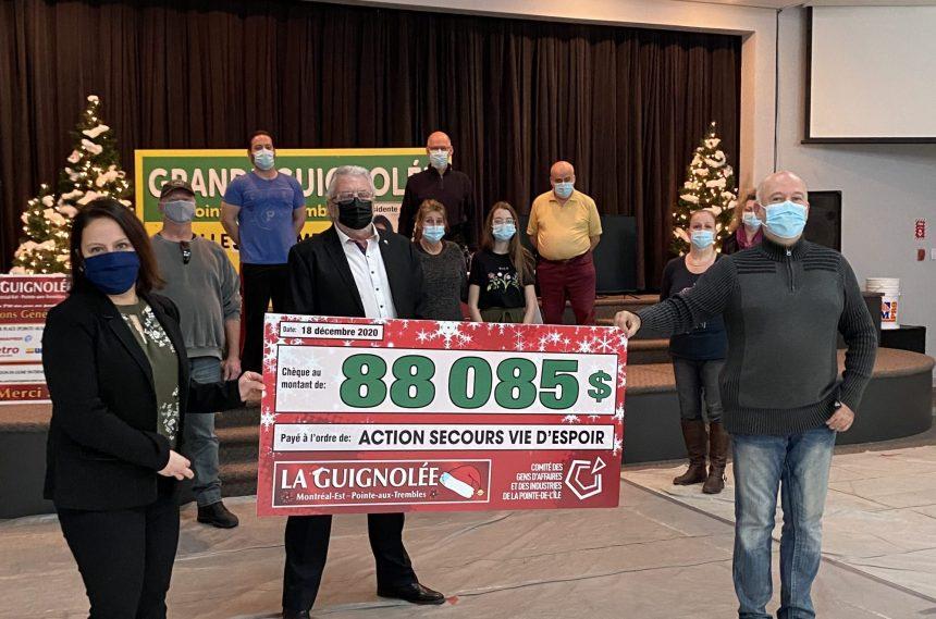 Une année record pour la Guignolée de Pointe-aux-Trembles-Montréal-Est