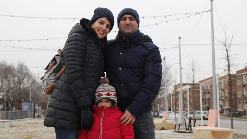 Immersion festive pour une famille immigrante de Saint-Laurent