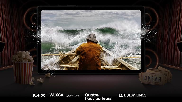 Galaxy Tab A7 Samsung tablette divertissement