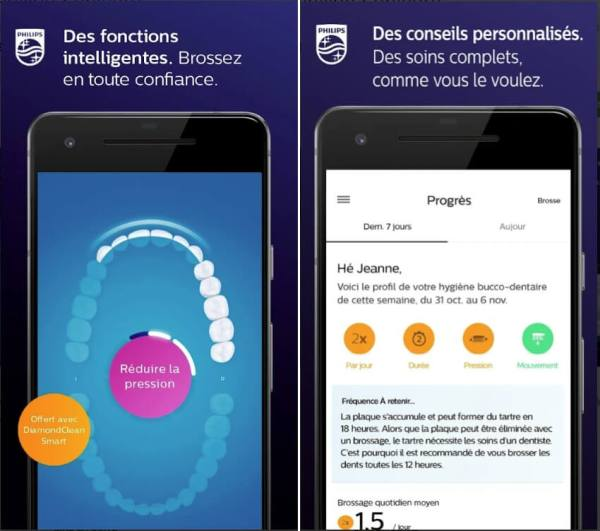 application philips sonicare
