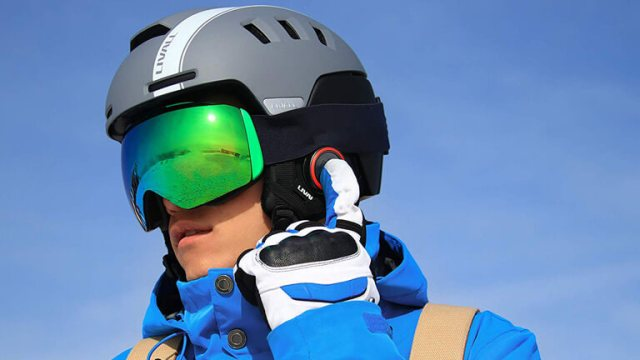 casque intelligent ski snow liveall bluetooth walkie talkie