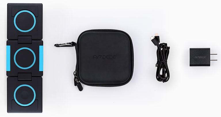 chargeur Unravel Ampere sans fil Apple contenu boîte