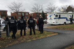 Après les fusillades, les policiers se déploient dans Rivière-des-Prairies