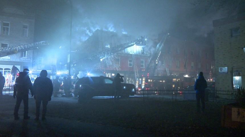 Un incendie majeur dans Hochelaga