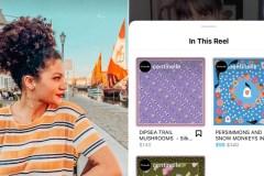 Instagram ajoute une fonction de magasinage à même les vidéos Reels