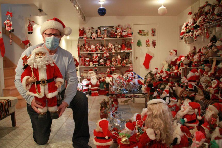 Noël, ce grand collectionneur de pères Noël