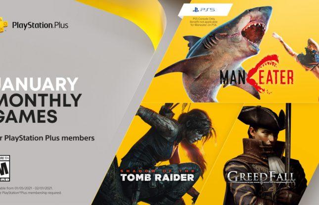 PlayStation Plus : les gratuités de janvier 2021