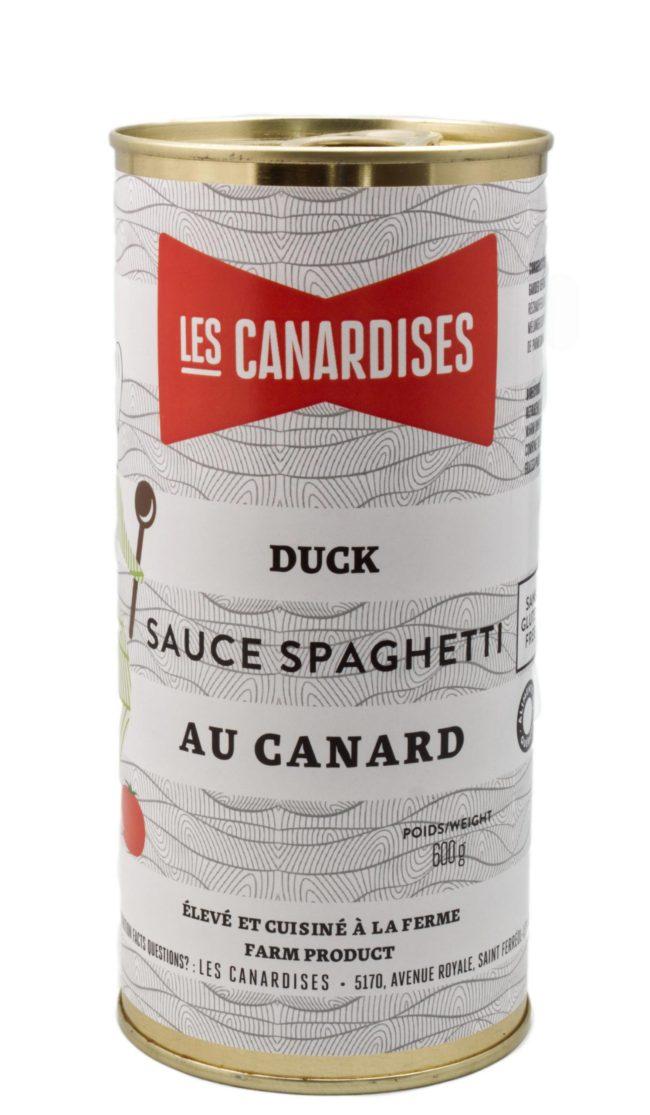 boîte de conserve de sauce à spaghetti
