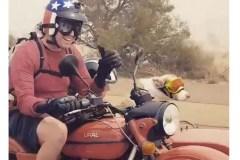 Une scène de moto digne d'un film
