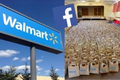 Walmart donne-t-il vraiment des sacs d'épicerie et des cartes cadeaux sur Facebook?
