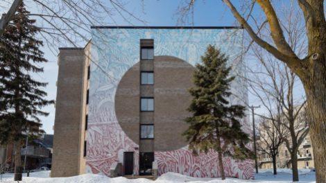 murale Le cercle des saisons