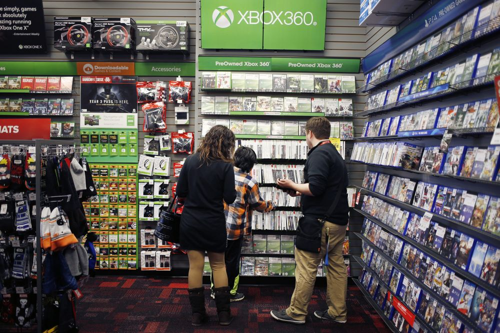 GameStop Drops Most Since 2002 After Failing to Sell Itself - Bloomberg