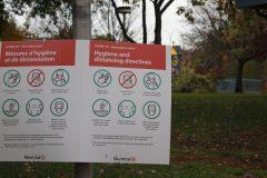 Sondage: les directives sanitaires généralement respectées à Lachine et Dorval