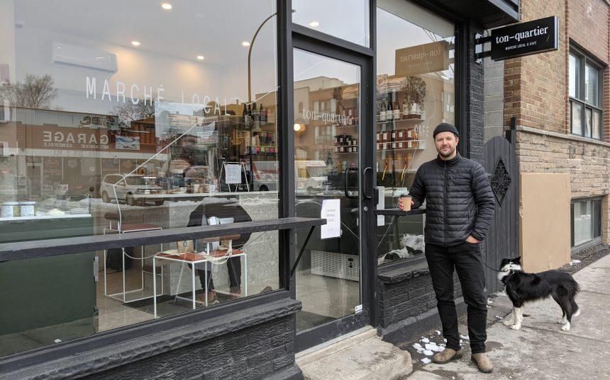 Ton-quartier: produits locaux et café de quartier