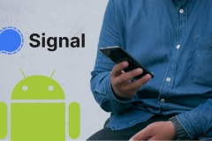 Comment faire de Signal son application de texto / SMS par défaut sur Android