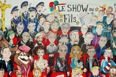François Pérusse dévoile les gagnants de son concours de dessins