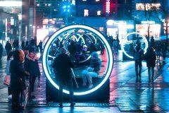 «Cœur battant»: de la luminothérapie dans le Quartier des spectacles