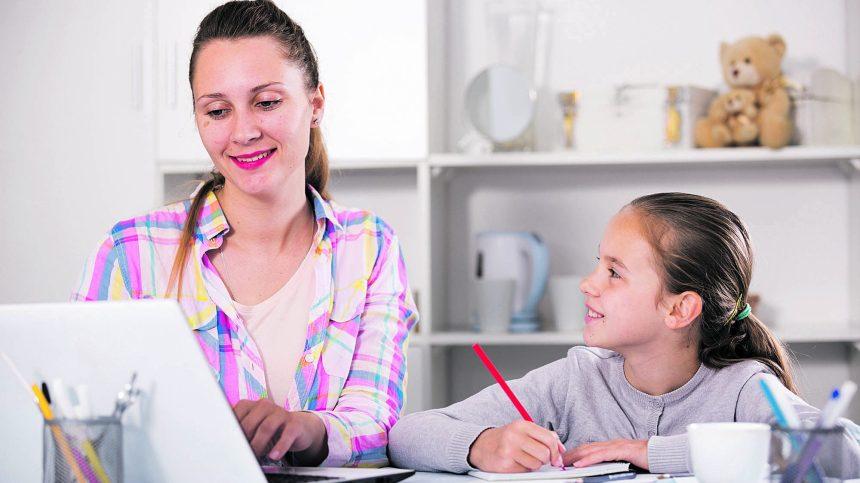 Cinq trucs pour concilier télétravail et télé-école