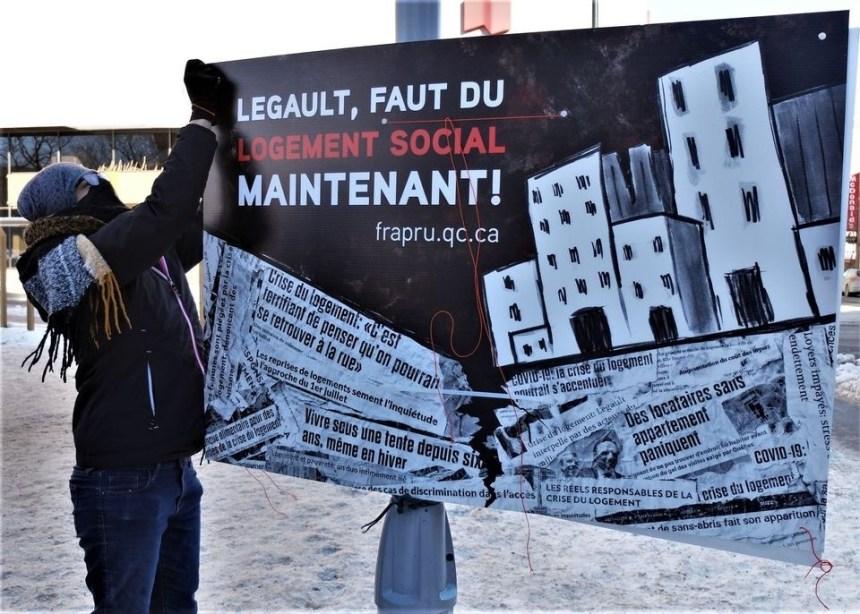 Le FRAPRU interpelle Québec sur le logement social