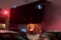 Incendie dans une épicerie sur Beaubien