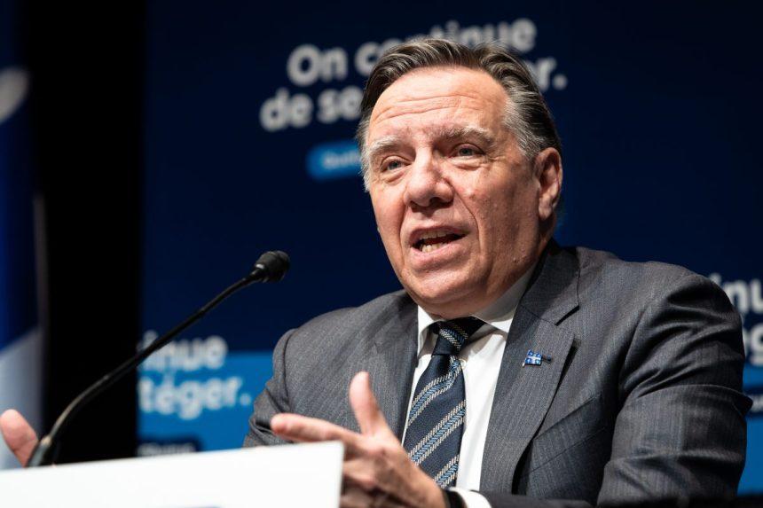 Mot en «N»: François Legault veut «défendre la liberté d'expression»
