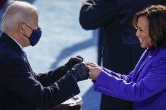 Les stars ont célébré l'investiture de Joe Biden et de Kamala Harris sur les réseaux