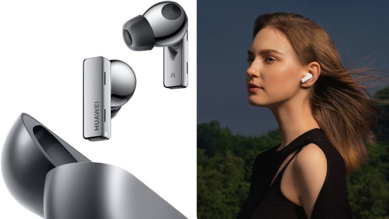 Les écouteurs FreeBuds Pro offre un look unique et raffiné.