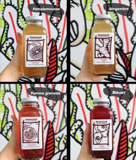 Kombucha : Découvrez les 4 saveurs de kombucha de Kombuchisima !