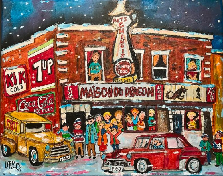 Un peintre évoque la nostalgie par ses œuvres d'art