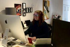Maude Bienvenue, une graphiste fière d'être au service des Lachinois