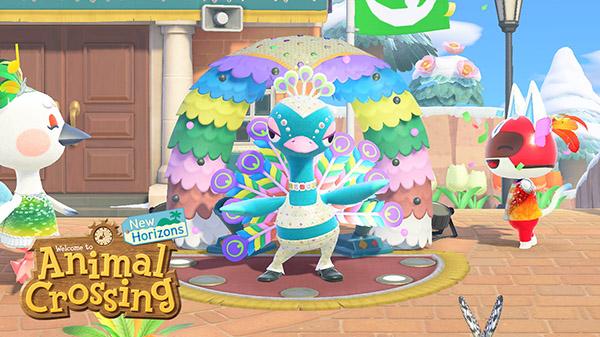 Animal Crossing: New Horizons montre ses couleurs en janvier