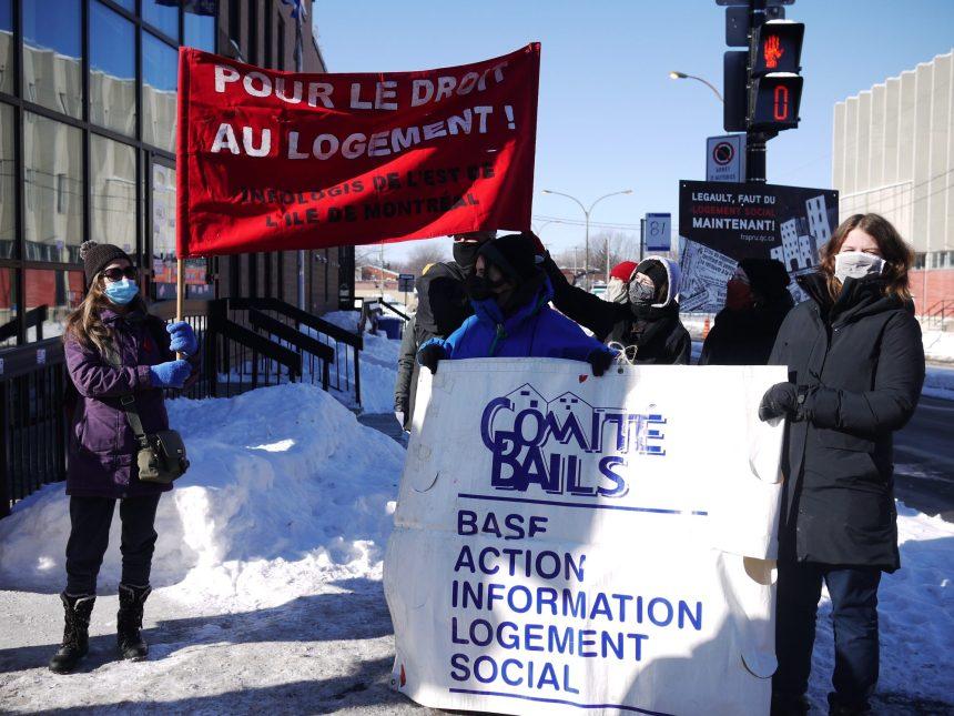 Des logements sociaux réclamés pour l'est de Montréal