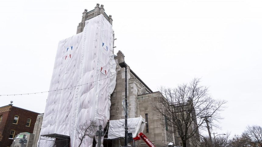 D'importants travaux débutent à l'église Saint-Esprit-de-Rosemont