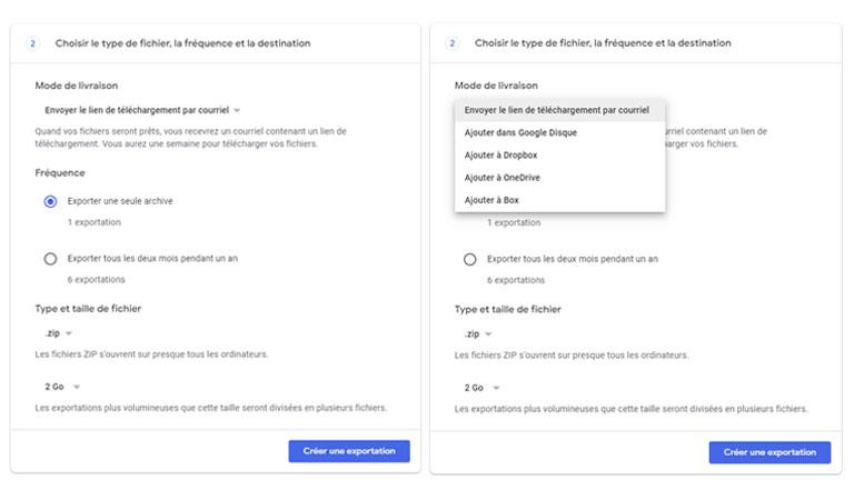Étape 3 télécharger bibliothèque photos Google