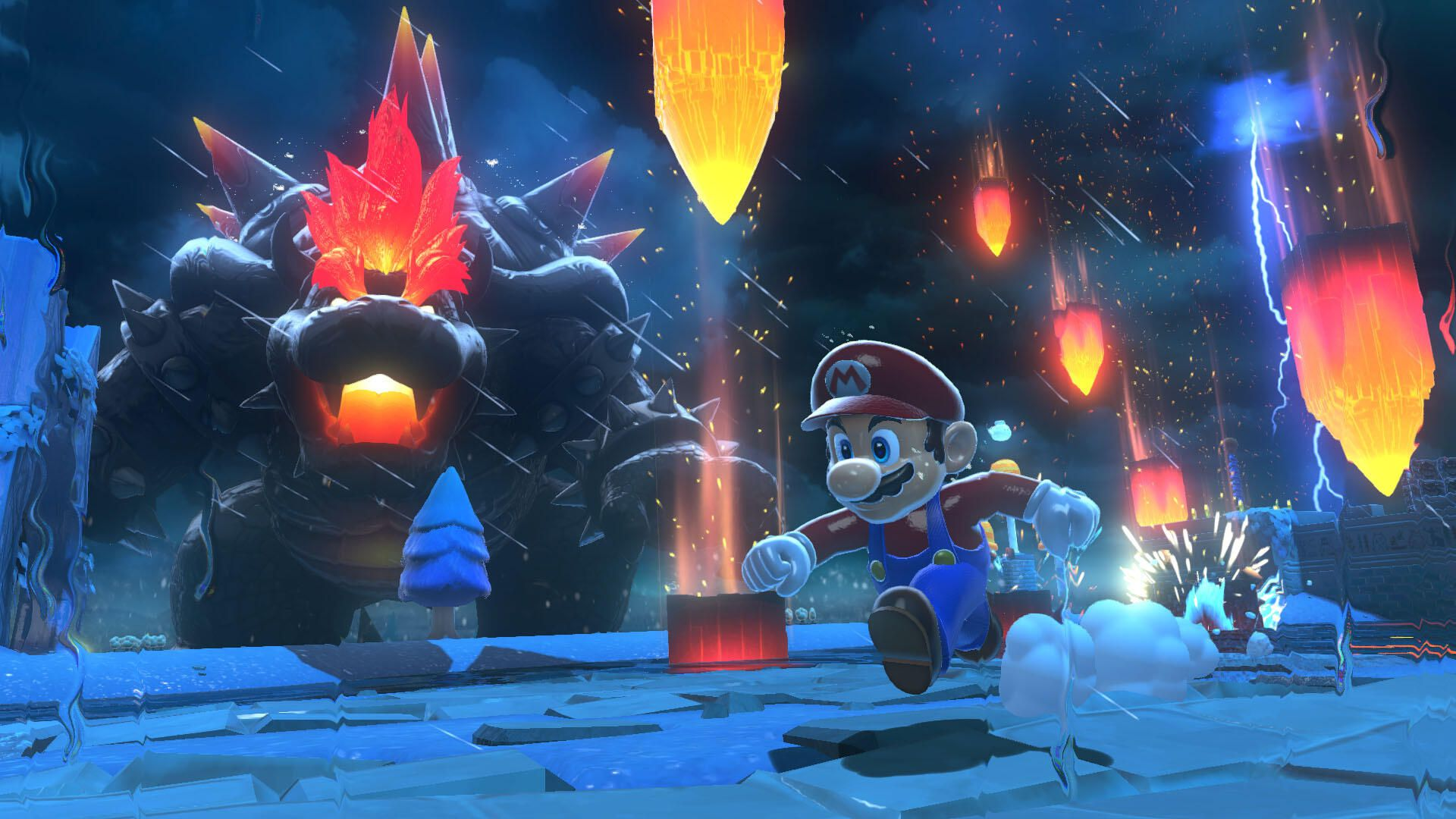 Giant Bowser debuts in Super Mario 3D World + Bowser's Fury trailer - CNET