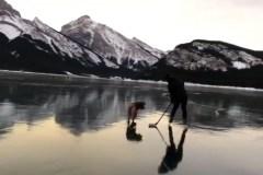 Un magnifique sport d'hiver