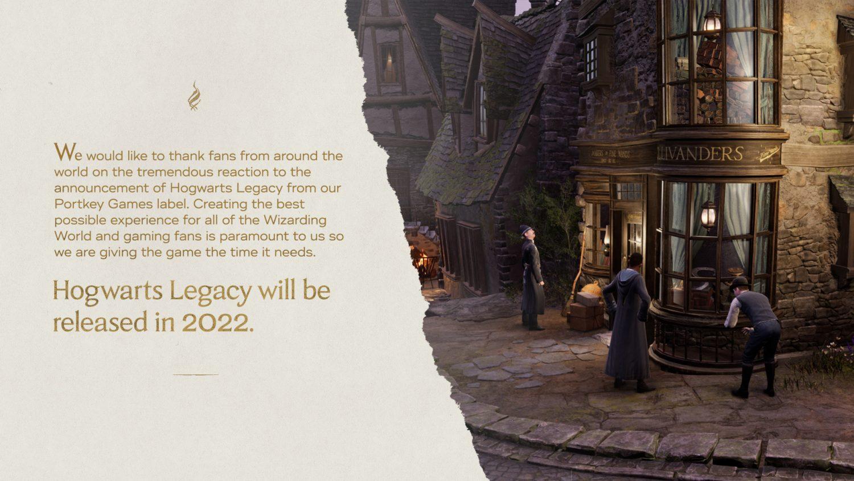 hogwarts legacy delay