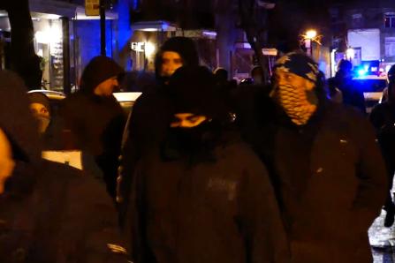Des manifestations contre le couvre-feu