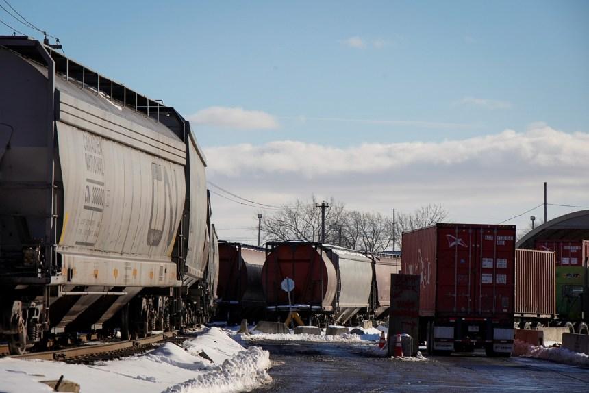 Accident mortel à la gare de triage de Pointe-Saint-Charles