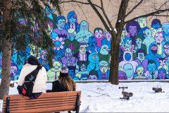 Art mural: 17 projets lancés dans 11 arrondissements